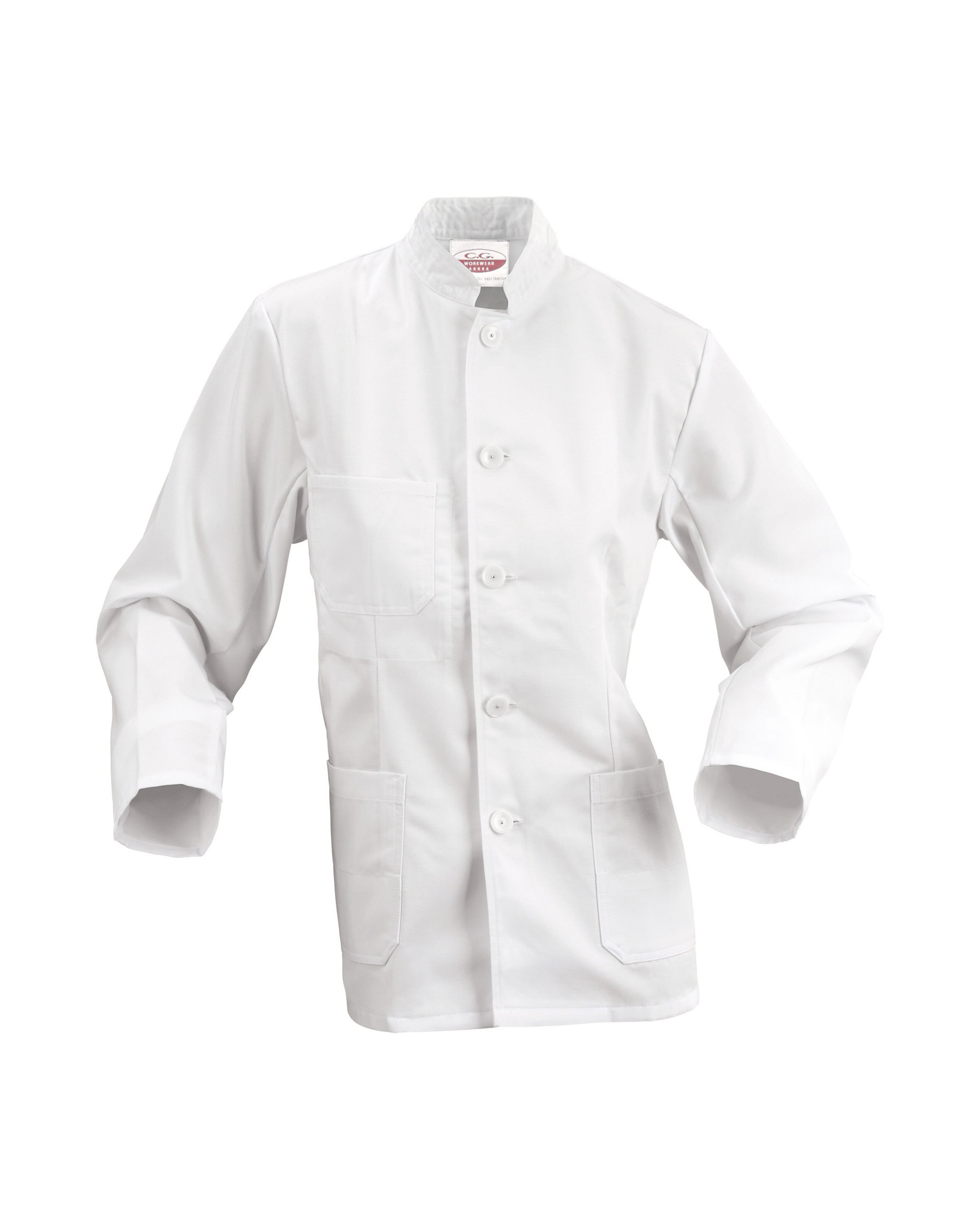 Veste blanche de service