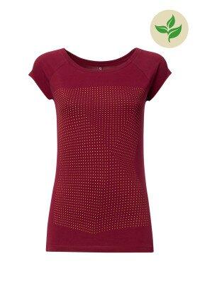 D_Produkt_Crooked-Dots-Cap-Sleeve-saffron-ruby-GOTS-und-Fairtr