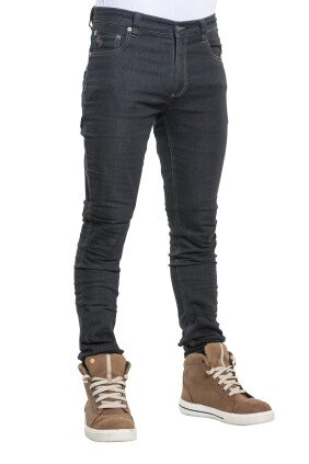 139 SKINNY REG JOGG DENIM BLACK Front