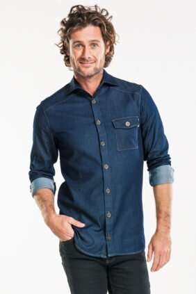 620 MEN BLUE DENIM stretch 3
