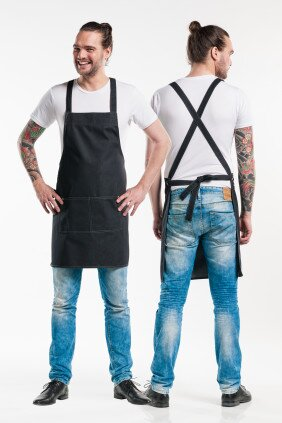 686 BIB APRON FUSION BLACK DENIM 1_2