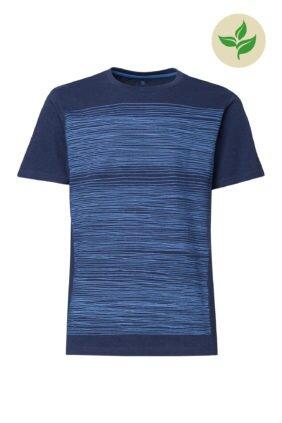 H_Produkt_Strokes-T-Shirt-blue-midnight-melange-GOTS-und-Fairt