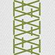 1519 weiss/blattgrün