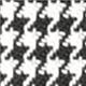 907 schwarzweiss pepita