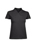 Damen-T-Shirt, schwarz