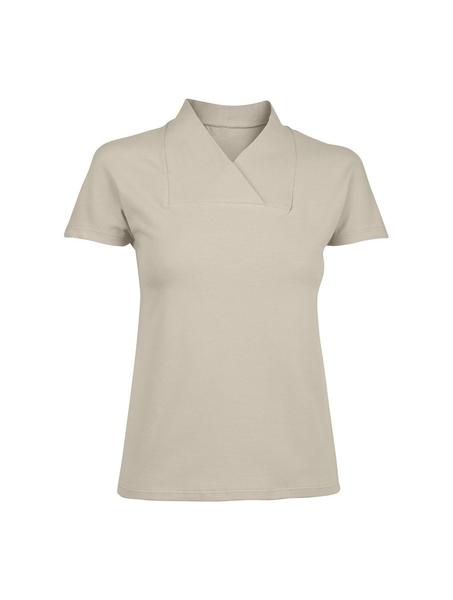 Damen-T-Shirt, stein