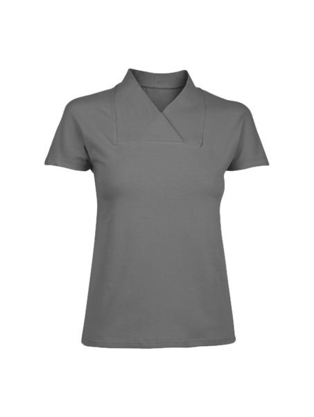 Damen-T-Shirt, grau