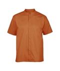 Herren-Hemd Kurzarm, orange