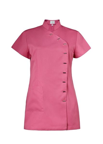 Damen-Kasack Kurzarm, pink