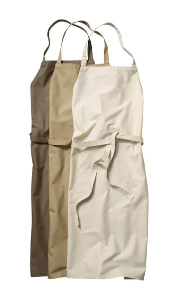 Latzschürze ohne Tasche, 110 x 75 cm