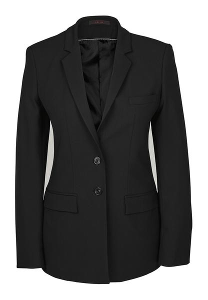 Damen-Langblazer, schwarz