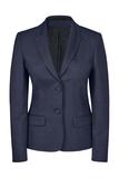 Damen-Blazer, pinpoint marine