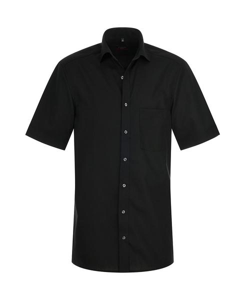 Herren-Hemd Kurzarm, schwarz