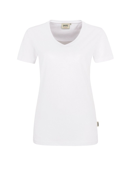 Damen-T-Shirt Performance Kurzarm, weiss