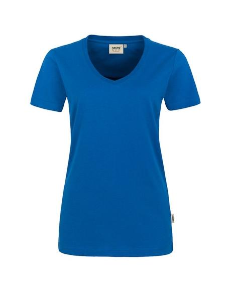 Damen-T-Shirt Performance Kurzarm, royal
