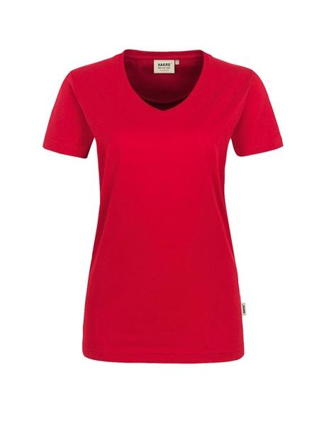 Damen-T-Shirt Performance Kurzarm, rot