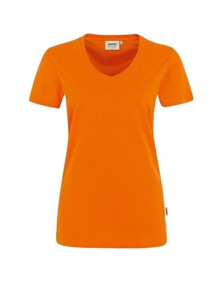 Damen-T-Shirt Performance Kurzarm, orange