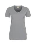 Damen-T-Shirt Performance Kurzarm, titan