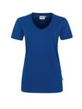 Damen-T-Shirt Performance Kurzarm, ultramarine