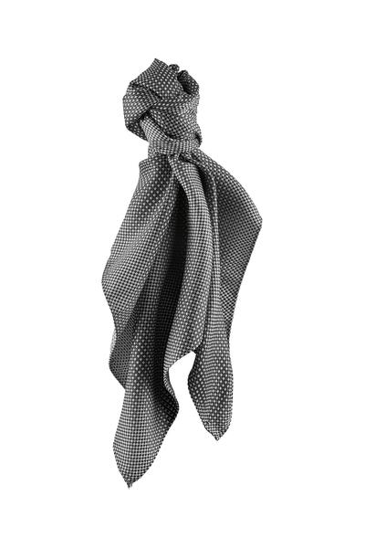 Tuch, schwarz/grau kariert