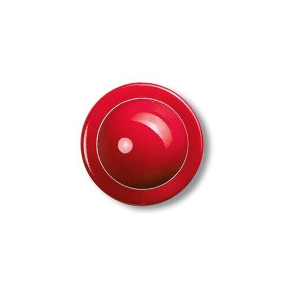 Steckknöpfe, rot