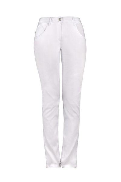 Damen-Jeans, weiss