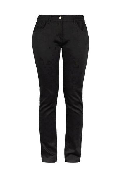 Damen-Jeans, schwarz