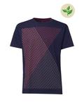 Fairtrade Print Herren-T-Shirt, midnight