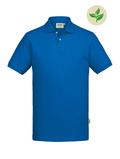 Fairtrade Herren-Poloshirt Kurzarm, royalblau