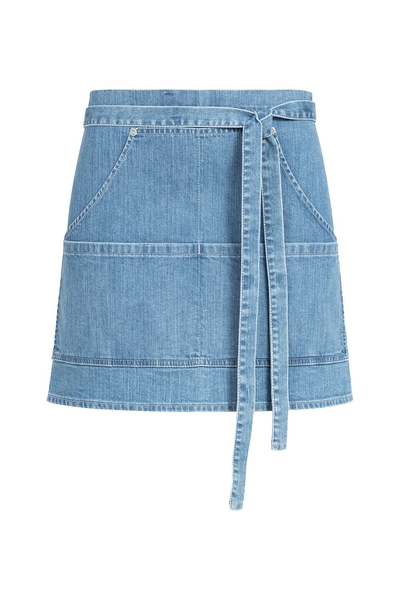 Tablier de bistrot denim, light blue denim