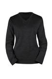 Damen-Pullover, schwarz