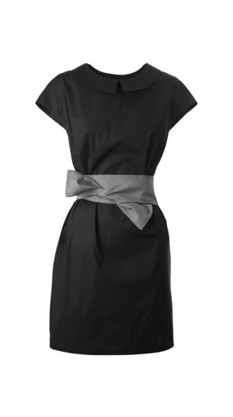 Damen-Kleid, schwarz